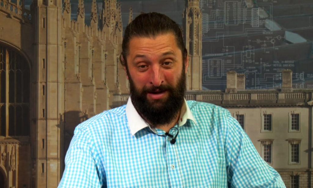Anton at Cambridge TV