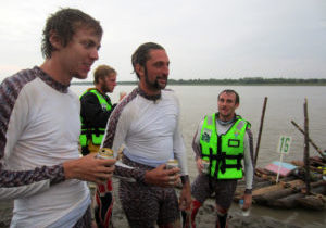 Great Amazon River Rafting Race